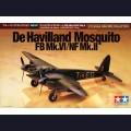 1:72 Tamiya 60747 Британский бомбардировщик De Havilland Mosquito FB Mk.VI