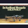 1:72 Tamiya 60753 Британский бомбардировщик De Havilland Mosquito B Mk.IV / PR Mk.IV