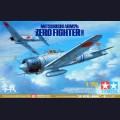 1:72 Tamiya 60780  Японский палубный истребитель Mitsubishi A6M2b Zero