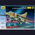 1:72 Звезда 7228   Советский истребитель МиГ-27