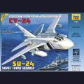 1:72 Звезда 7265   Советский фронтовой бомбардировщик Су-24