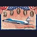 1:144 Roden 324  Американский реактивный административный самолёт Lockheed VC-140B JetStar