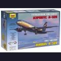 1:144 Звезда 7003   Пассажирский авиалайнер Airbus A320