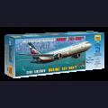 1:144 Звезда 7005   Пассажирский авиалайнер Boeing 767-300