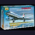 1:144 Звезда 7007   Советский пассажирский авиалайнер Ту-134