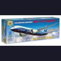 1:144 Звезда 7008   Пассажирский авиалайнер Boeing 787-7 Dreamliner