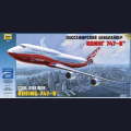 1:144 Звезда 7010   Пассажирский авиалайнер Boeing 747-8