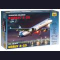 1:144 Звезда 7017   Пассажирский авиалайнер Airbus A321