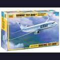 1:144 Звезда 7019   Пассажирский авиалайнер Boeing 737-800