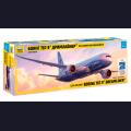 1:144 Звезда 7021   Пассажирский авиалайнер Boeing 787-9 Dreamliner