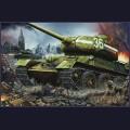 1:16  Trumpeter  00902  Советский средний танк Т-34/85 образца 1944г, завод №183