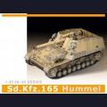1:35  Dragon  6150 Немецкая самоходная артиллерийская установка Sd.Kfz.165 Hummel первоначальное производство