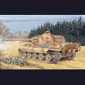 1:35  Dragon  6208 Немецкий тяжелый танк Sd.Kfz.182 King Tiger с башней Henschel