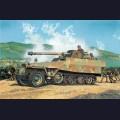 1:35  Dragon  6248 Немецкий полугусеничный БТР Sd.Kfz.251/22 Hanomag Ausf.D с орудием 7.5cm Pak.40