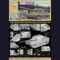 1:35  Dragon  6493 Немецкая противотанковая самоходная артиллерийская установка Sd.Kfz.186 Jagdtiger производства Porsche