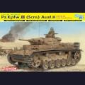 1:35  Dragon  6642 Немецкий средний танк Pz.Kpfw.III Ausf.H поздняя версия