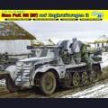 1:35  Dragon  6719 Немецкий полугусеничный тягач Sd.Kfz.10 с орудием 5cm Pak.38