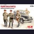 1:35  ICM  35477 Немецкий штабной автомобиль Opel Kapitan