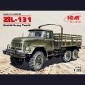 1:35  ICM  35515 Советский армейский грузовик ЗиЛ-131