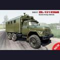 1:35  ICM  35517 Советский армейский грузовик ЗиЛ-131 КШМ