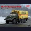 1:35  ICM  35518 Советский грузовик ЗиЛ-131 Аварийная служба