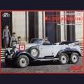 1:35  ICM  35531  Немецкий штабной автомобиль повышенной проходимости Mercedes-Benz G4 (модель 1939г, с пассажирами)