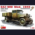 1:35 MiniArt 35134 Советский армейский грузовой автомобиль ГАЗ-ММ