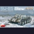 1:35 MiniArt 35178 Советская самоходная артиллерийская установка СУ-85 с экипажем