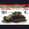 1:35 MiniArt 35243 Советский легкий танк Т-80 с экипажем