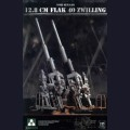 1:35 Takom 2023 Немецкое зенитное орудие 12.8cm FLAK 40 Zwilling