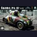 1:35  Takom  2024 Немецкий бронеавтомобиль Skoda PA-II Turtle