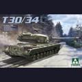 1:35  Takom  2065 Американский тяжелый танк T30 / T34