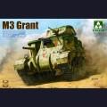 1:35 Takom 2086 Английский средний танк M3 Grant