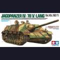 1:35  Tamiya  35340 Немецкая противотанковая самоходная артиллерийская установка Jagdpanzer IV L/70(V)