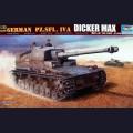 1:35  Trumpeter  00348 Немецкая противотанковая самоходная артиллерийская установка Pz.Sfl.IVa Dicker Max