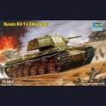1:35  Trumpeter  00357 Советский тяжёлый танк КВ-1 с экранами