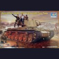 1:35  Trumpeter  00360 Советский тяжёлый танк КВ-1 образца 1942г c лёгкой литой башней