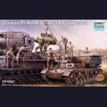 1:35  Trumpeter  00363 Немецкий подвозчик боеприпасов Munitionsschlepper Pz.Kpfw.IV Ausf.F