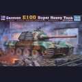 1:35  Trumpeter  00384 Немецкий сверхтяжелый танк E100
