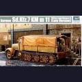 1:35  Trumpeter  01507 Немецкий полугусеничный тягач Sd.Kfz.7 поздняя версия