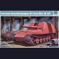 1:35  Trumpeter  01540 Немецкая самоходная артиллерийская установка Geschützwagen VI für 21cm Mrs.18/1(Sf.)