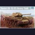 1:35  Trumpeter  01567 Советский тяжёлый танк КВ-1С/85