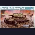 1:35  Trumpeter  01569 Советский тяжёлый танк КВ-85