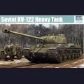 1:35  Trumpeter  01570 Советский тяжёлый танк КВ-122
