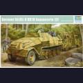1:35  Trumpeter  01584 Немецкий бронированный полугусеничный тягач Sd.Kfz.8 DB10