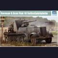 1:35  Trumpeter  01585 Немецкий полугусеничный тягач Sd.Kfz.8 с орудием 8.8cm Flak.18 Selbstfahrlafette