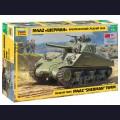 1:35 Zvezda 3702 Американский средний танк М4А2