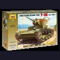 1:35  Zvezda  3538 Советский лёгкий танк Т-26 образца 1933г