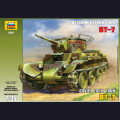1:35  Zvezda  3545 Советский лёгкий танк БТ-7