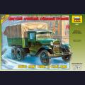 1:35  Zvezda  3547 Советский армейский грузовик ГАЗ-ААА